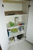 Storage cabinet contents Inc. Depression
