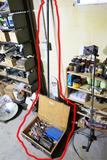Large Spud Bar + Box of Tools