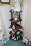 Collectibles etc contents of shelf unit