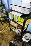 Office shelf unit Plus contents
