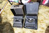 2 Antique Typewriters