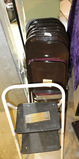 Group of Folding Chairs etc