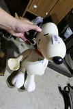 50s Plastic Snoopy Bowling Toy
