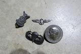 Sterling Silver Military Insignia, Nazi Tinnie