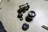 Group Antique Camera etc Lenses