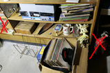 Records, Stereo & More lot