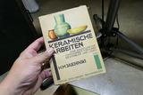 Unusual Antique German Pottery Book