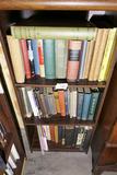 3 Shelves of old books