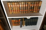 2 Shelves of old Books Inc. Sets