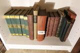 Shelf Lot of old books