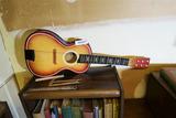 Vintage Miniature Guitar or Ukulele