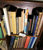 2 Shelves of Old books, pamphlets