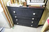 Antique Dovetailed Wooden Dresser