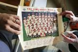 1961 Cincinnati Reds SOHIO Poster