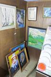 Corner lot of vintage art