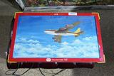 Folk Art Plane Painting on Tru-Action Toy