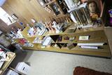 2 Large Mid Century Shelf Units