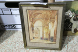 Antique signed watercolor painting