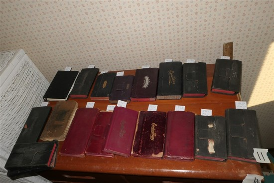 Very Large Collection Dated Diaries