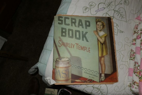 1930s Shirley Temple Scrapbook Nice