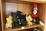 Group Lot Antique Stuffed Animals