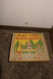 Play Time Glass Dishes 1920s In Box
