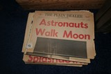 Lot of Historic Newspapers Moon Landing