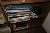 Group Lot Assorted Records etc