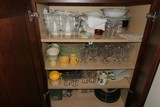 Large Kitchen Cupboard Lot