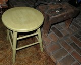 2 Stools - Primitive and Vintage