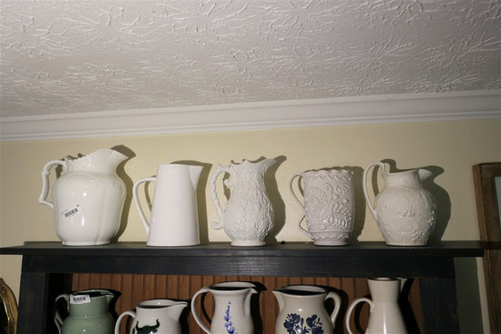 Shelf Lot Assorted Pottery, Ceramics