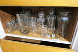 Group Lot Assorted Glass, Cannisters