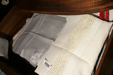 Drawer Lot of Old Linens Inc. Madeira