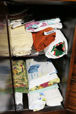 Cupboard Lot of Vintage Linens