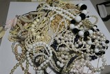 Very Large Lot Beaded Necklaces Jewelry etc