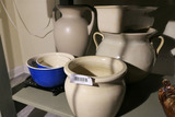 Lot Assorted Pottery Inc. Haeger, Pottery Barn, Oxford