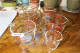 Lot of 6 Pyrex Measuring Cups