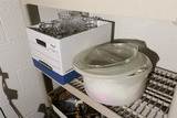 Assorted glasses & Cookware Lot