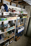 Very Large Lot Assorted Old Glass etc