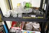 Large Lot assorted glass etc