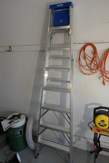 8' Tall Aluminum Stepladder