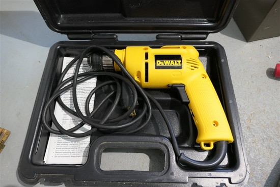 Dewalt DW100 Heavy Duty Drill in Case