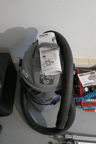 12 Gal 6 hp Heavy Duty Shop Vac