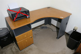 Office desk unit