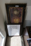 Two pieces of framed art