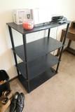 4 Level Black Shelf