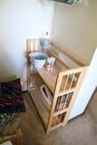 Maple Wooden Folding Shelf