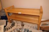 Shop Made Maple TV Stand Shelf