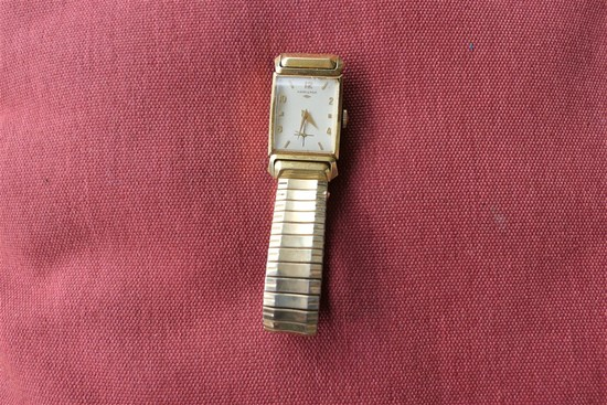 Rare 18k Gold Men's Hamilton Watch 1962