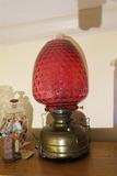 Large Antique Veritas Lamp Works Lantern